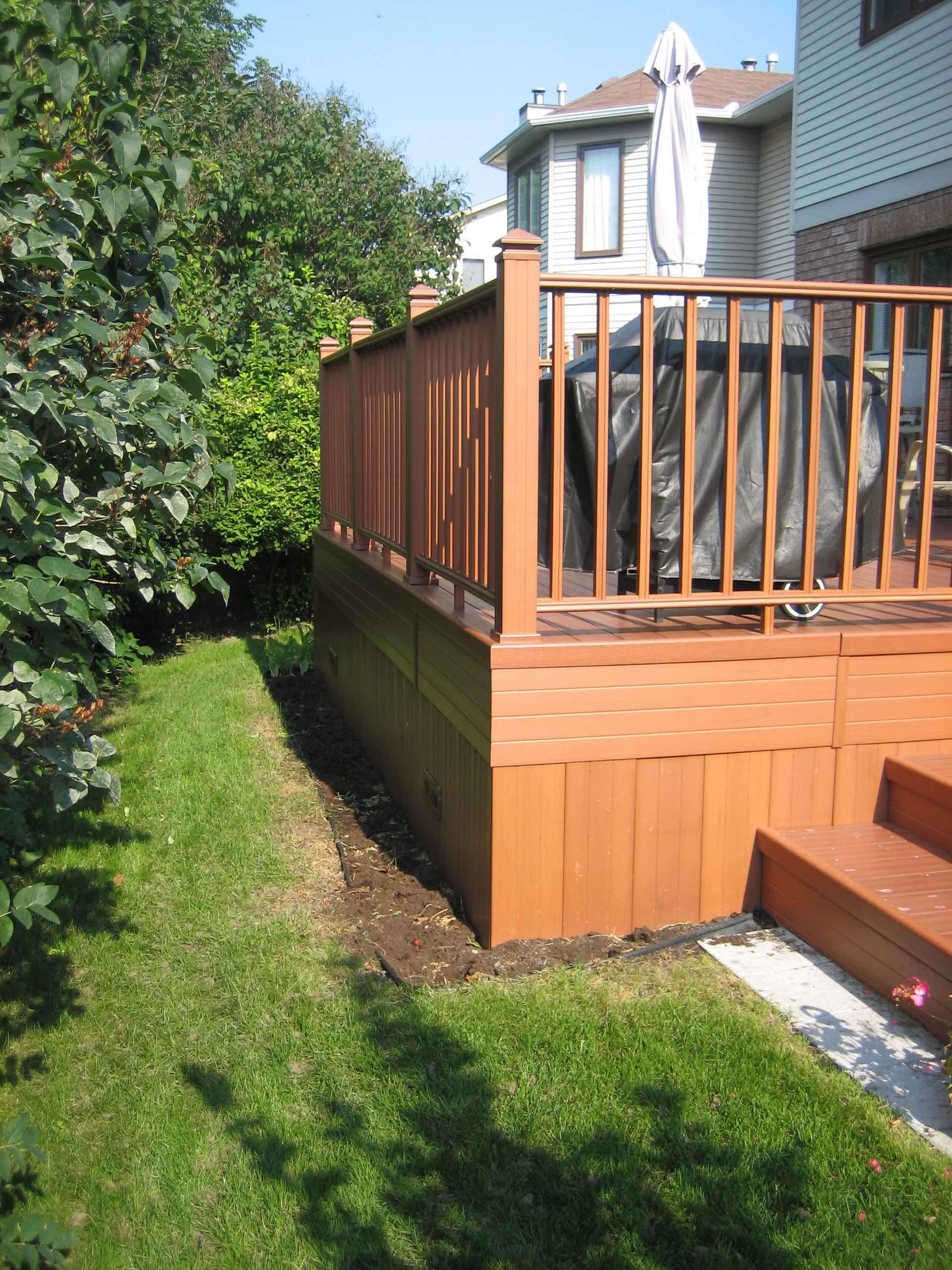 custom cedar deck ottawa