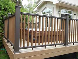 Trex Two tone decking ottawa