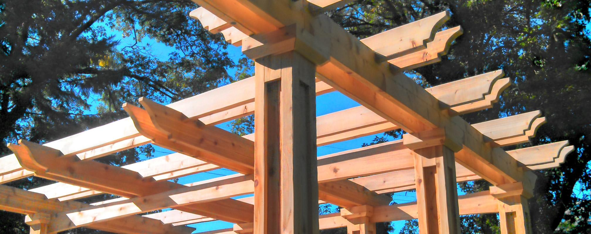 wooden gazebo in ottawa