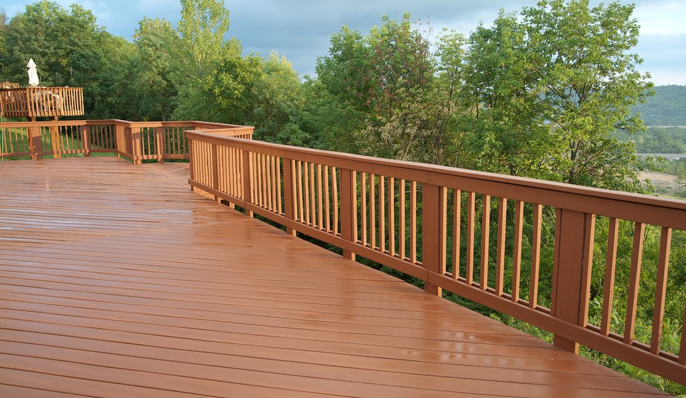 why railing is the first noticed deck component