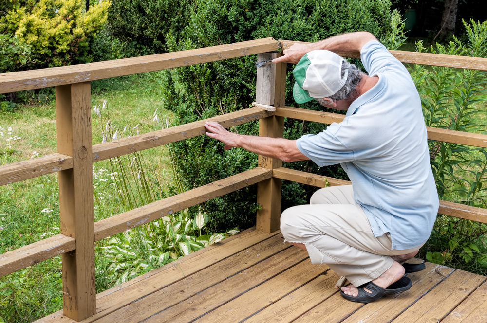 How can I tell my deck railing needs replacing?